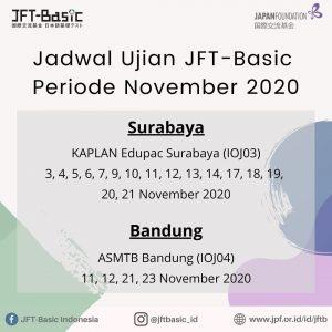 Lokasi Ujian Surabaya - Bandung